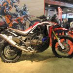 Africa Twin in versione Dakar Ecorace