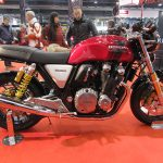 Honda CB 1100 RS, vista laterale: splendida